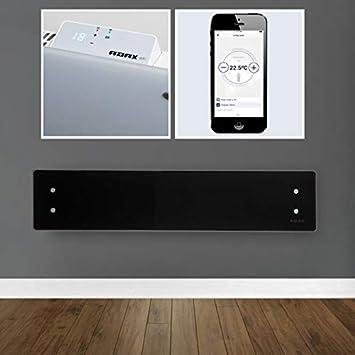 Adax Clea WiFi de Smart Home eléctrica cristal Pizarra de ...