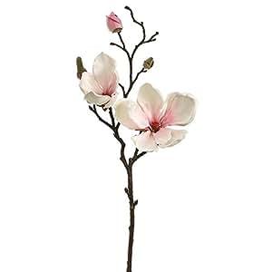 "Magnolia Spray in Blush Pink - 19"" Tall"