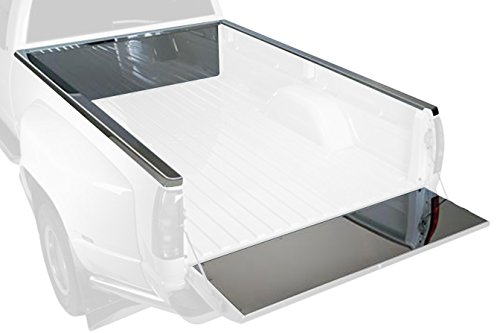 Putco 51112 Stainless Steel Front Bed Protectors (Protection Brite Bed)