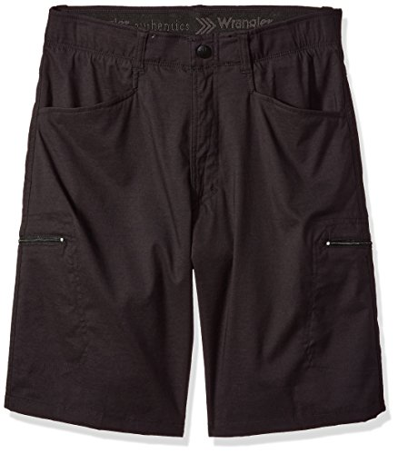 - Wrangler Authentics Men's Authentics Outdoor Comfort Flex Cargo Short, Black, 40