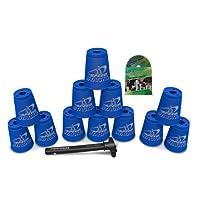 Apilamiento deportivo con vasos de Speed Stacks - Cool Blue (Cup Stacking)