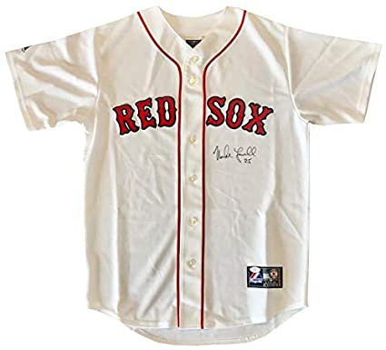 5ce86be8fe0 Image Unavailable. Image not available for. Color  Mike Lowell Autographed  Authentic Boston Red Sox White Jersey