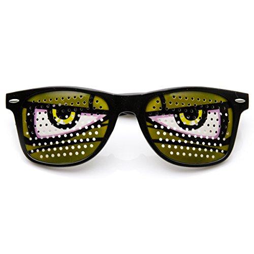 zeroUV - Poker Face Animal Goofy Eyes Costume Party Novelty Sunglasses - Anime Glasses Eyes
