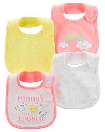 Carter's 4-Pack Teething Bibs - Mommy's Little Sunshine