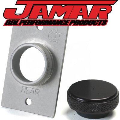 Jamar Performance Master Cylinder 5000, 5000T, Mcrr Remote Reservoir Easy Fill Lid Engraved (Rear Master Cylinder Remote Reservoir)