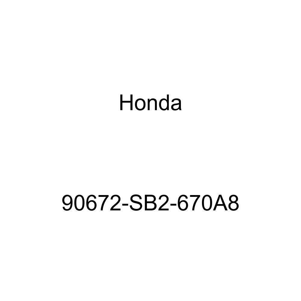 Genuine Honda License Plate Cap 90672-SB2-670A8