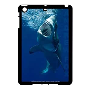 3D Shark Case For iPad Mini 2D Black 6229388361433 by ruishername