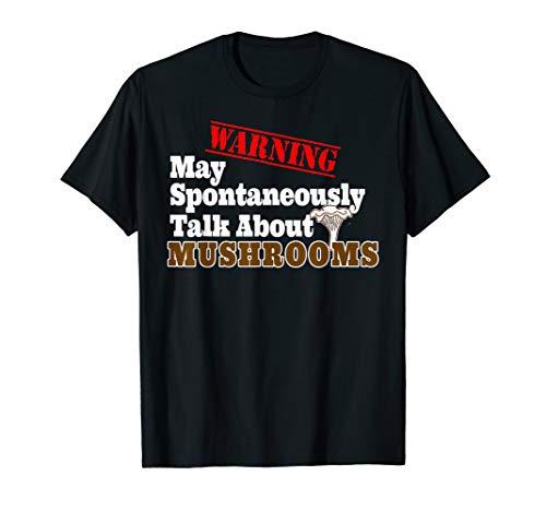Funny Mushroom Hunter Design Amateur Mycologist Morel Forage T-Shirt