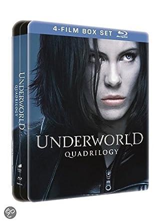 2a9108f45 Underworld : L'intégrale - Coffret edition limitée boîtier SteelBook (4 Blu- ray