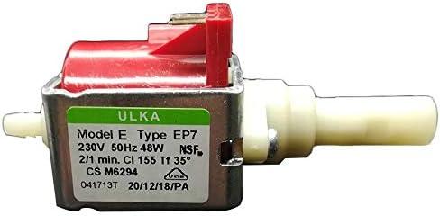 Electrobomba ULKA EP7 48 W bomba de agua para cafeteras: Amazon.es: Hogar