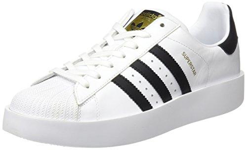 Superestrella Llamativos Zapatos De Fitness W Adidas Mujeres Ftwr Blanco-negro-núcleo Metálico De Oro En venta por menos de $ 60 Pedido barato Barato Best Venta Bajo envío barato en línea Bajo costo de envío fD4wI