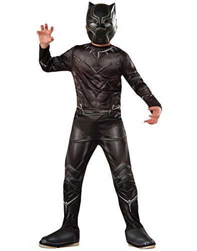 Rubie's Costume Captain America: Civil War Value Black Panther Costume, -
