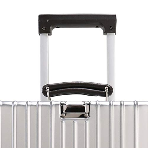 Rayem Fashion Luggage, Universal Wheel Aluminum Frame Trolley case, Ultra-Light and Durable Password Suitcase (Color : Black, Size : 20) by Rayem (Image #5)