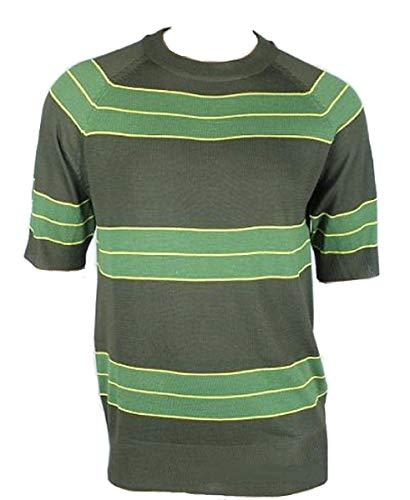Unknown oem Kurt Cobain Sweater Green Striped Shirt Costume Nirvana Smells Like Teen Spirit, -