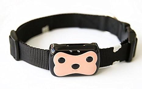sgtrehyc Mini rastreador GPS para mascotas, dispositivo de seguimiento de perro gato en tiempo real localizador impermeable: Amazon.es: Productos para ...