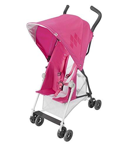 Maclaren Mark II Stroller – Carmine Rose – One Size