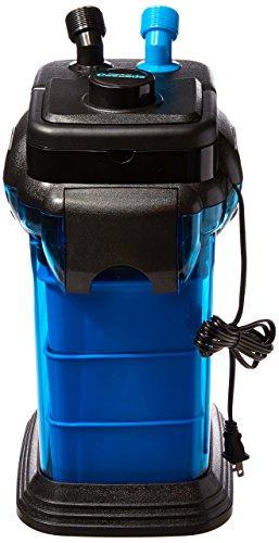 Penn Plax Cascade CCF3UL Canister Filter For Large Aquariums and Fish Tanks - Up To 100 Gallons, Filters 265 GPH