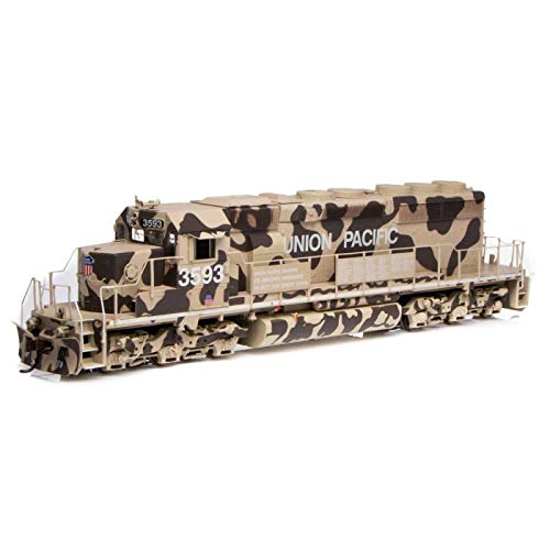 Athearn HO RTR SD40-2 w DCC & Sound UP Desert Victory#3593, ATH71630 from Athearn