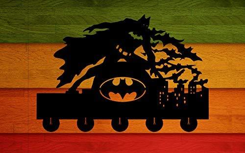 Amazon.com: Ganchos de pared Batman Bruce Wayne de 20 libras ...