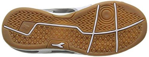 Diadora Capitano ID JR Indoor Soccer Shoe, Black/White, 3.5 M US Big Kid by Diadora (Image #3)