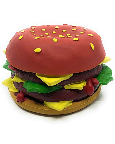 cheese burger dog toy - 7