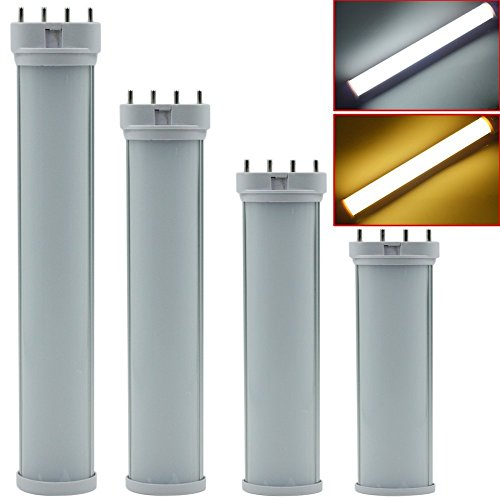 XJLED® 2G11 4Pin 22W Led Light Bulbs Ersatz für traditionelle 55W CFL / Leuchtstoffröhre Industrie Qualität,AC85-265V,Led Tube Light (22W Warm weiß)