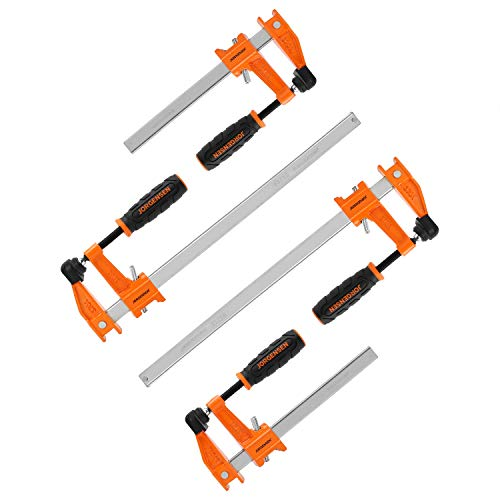 JORGENSEN 4-pack Steel Bar Clamps Set
