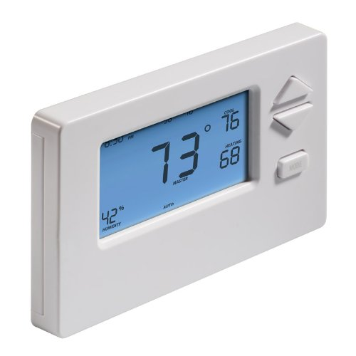 Insteon 2441TH Smart Thermostat, Works with Alexa via Bridge, Uses Superior Dual-Mesh Wireless Technology for Unbeatable Reliability - Better than Wi-Fi, Zigbee and Z-Wave by Insteon (Image #2)