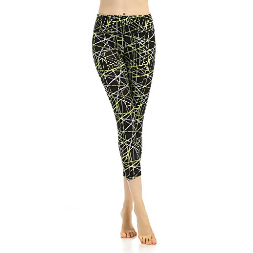 Kerio Kerio Women's Color Printing Capri Pants price tips cheap