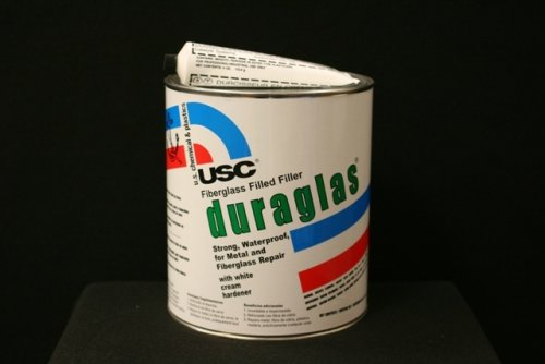 US Plastics Duraglass Putty W/Bpo, Gallon