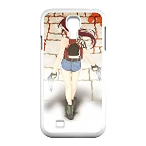 black lagoon manga illustration Samsung Galaxy S4 9500 Cell Phone Case White yyfD-293564