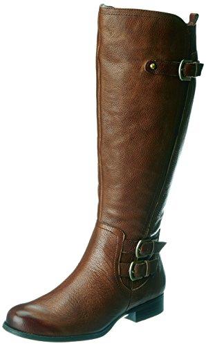 Naturalizer Women's Johanna Wideshaft Riding Boot,Banana Bread Leather,7.5 M US