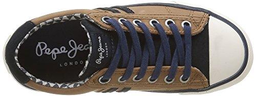 Pepe Jeans London Jungen Serthi Rayo Low-Top Marron (859Tobacco)