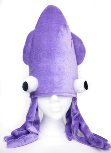 Jacobson Hat Co Mens Squid Cap (Purple)]()