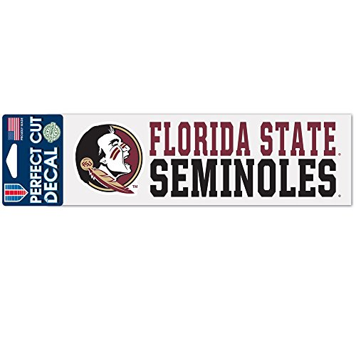 (Wincraft NCAA Florida State University WCR53490015 Perfect Cut Decals, 3