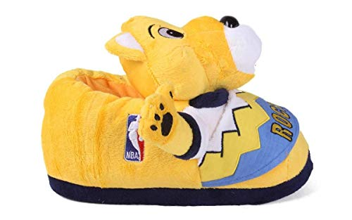 Slippers Officially Licensed Womens Feet Happy Mens and Mascot Denver NBAMascot Slippers Comfy Nuggets Feet and vSaqxq4w