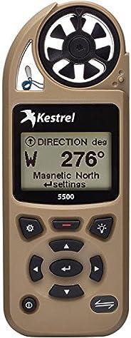 Kestrel 5500 Weather Meter with Link and Vane Mount, Tan