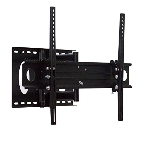 "Tilting TV Mount Bracket Fits 32""-80""LED, LCD Flat Panel Screen UP to 110 Lbs with Swivel, Extending Arm Articulating, VESA 600×400/400×400/200×200/200×100/150×150/100×100/75×75/50×50mm Compatible (Extending 9 Motion Full Mount)"