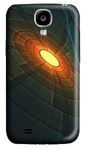 Case for Samsung Galaxy S4-Wavy Ceiling Polycarbonate Hard Case Back Cover for Samsung Galaxy S4/ SIV / I9500