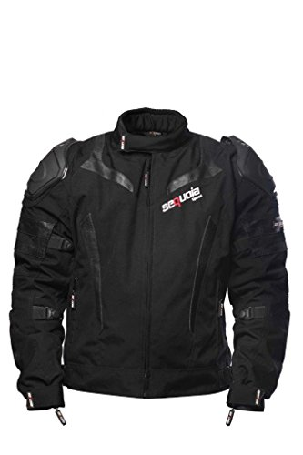 Sequoia Speed SR2030 Jacket Armor Motorcycle Body Gear Chest Black Full Protection Spine Protective Shoulder Men Racing Bike Motocross New S Guard Riding Powersports - Size 2XL - 3 Months - Jackets Sr Racing