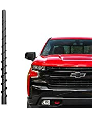 Car Wash Proof Antenna for Chevy Silverado and GMC Sierra (2009-2021)|9 inch Spiral Direct Replacement Antenna Accessories