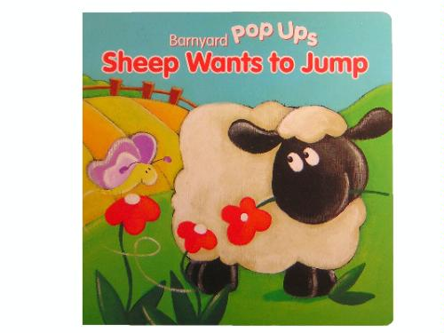 Read Online Sheep Wants to Jump (Farm Animal Pop Up Boards) pdf epub