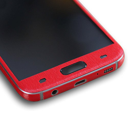 AppSkins Rückseite/Seitenteile Samsung Galaxy S7 Metal red