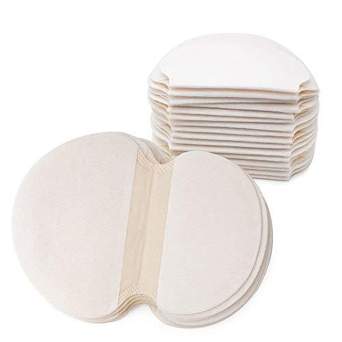 Gospire 50 pcs (25 Pair) Disposable Underarm Pads Armpit Sweat Pads Perspiration Pads Shield Absorbing Anti Perspiration Odor Sheet for Women
