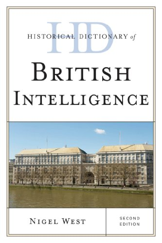 Download Historical Dictionary of British Intelligence (Historical Dictionaries of Intelligence and Counterintelligence) Pdf