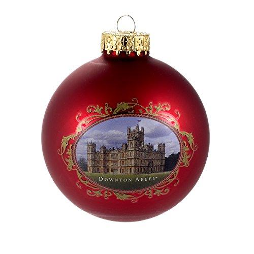 Price comparison product image Downton Abbey Castle Glass Ball Ornament