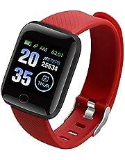 LCAZ Fitnesstracker Hr-Monitor Activity Tracker Stappenteller Horloge Kleurenmonitor Ip67 Waterdicht 1 3 Inch Perfect Voor Dames Heren Kinderen