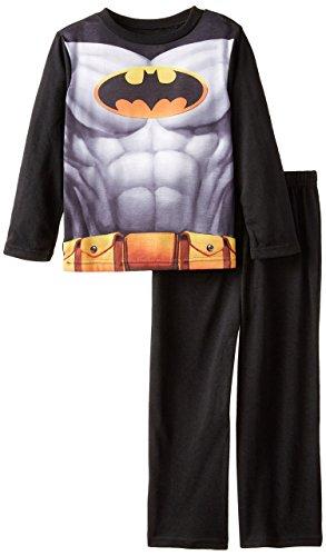 Batman Big Boys' Batman Costume Poly Cape Set, Black, -