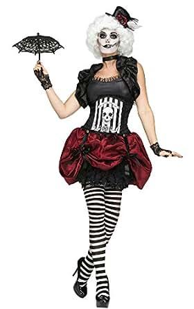 Amazon Com Fun World Women S Freak Show Circus Tightrope