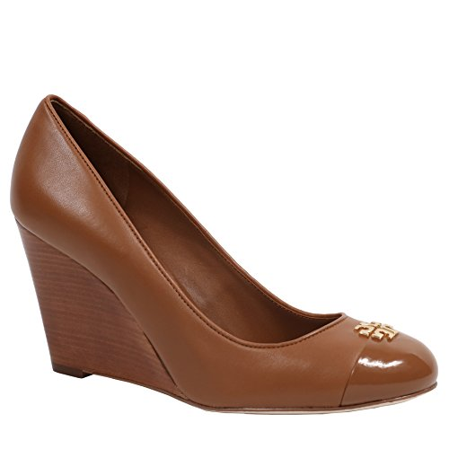 Pictures of Tory Burch Jolie 85MM Closed Toe Wedge Royal Tan 8.5 M US 2